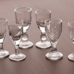 Small white wine glass shot glass cup goblets 5ml
