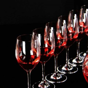 Wholesale hotel supplies Bordeaux Cold incision red wine juice glass Goblet